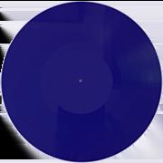 пластинка 10 дюймов синяя
