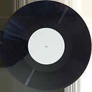 пластинка 10 дюймов черная