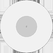 Виниловая пластинка 10 дюймов белая