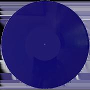 Виниловая пластинка 12 дюймов синяя