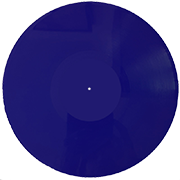 пластинка 12 дюймов синий