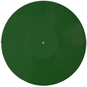 Виниловая пластинка 12 дюймов зеленая