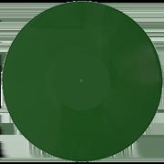 пластинка 12 дюймов зеленый