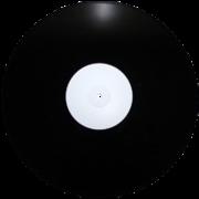 Виниловая пластинка 12 дюймов черная