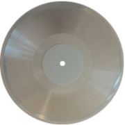 пластинка 12 дюймов прозрачная