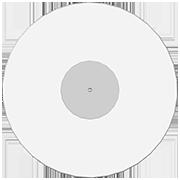 пластинка 12 дюймов белая