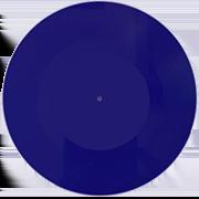 пластинка 7 дюймов синяя