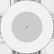 пластинка 7 дюймов белая